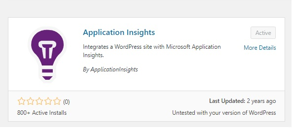 Enable Application Insights on your Azure WordPress site